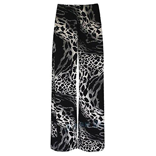 Janisramone Leggings - Donna Tie Dye Leopard