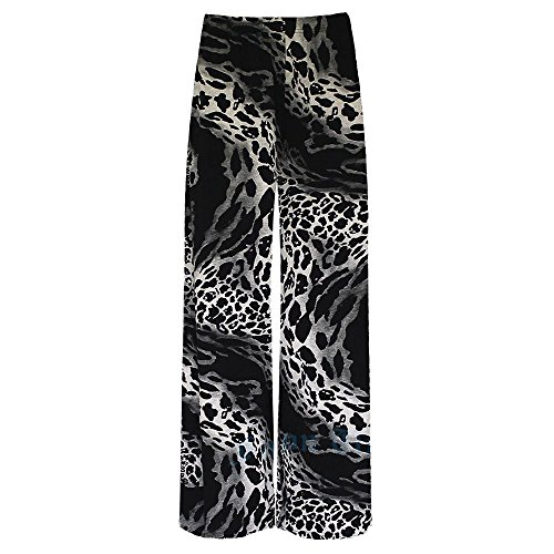 Janisramone Donna Dye Leggings Leopard Tie rYTrw6q