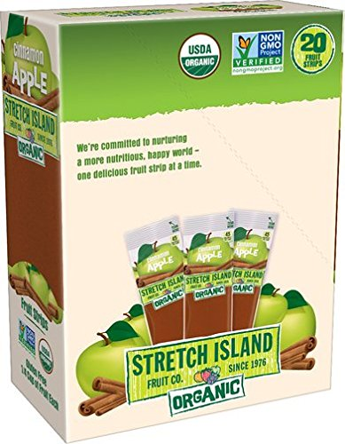 Stretch Island Cinnamon Apple Company Organic Fruit Strips, 0.49 Ounce (Pack of 120) by Stretch Island