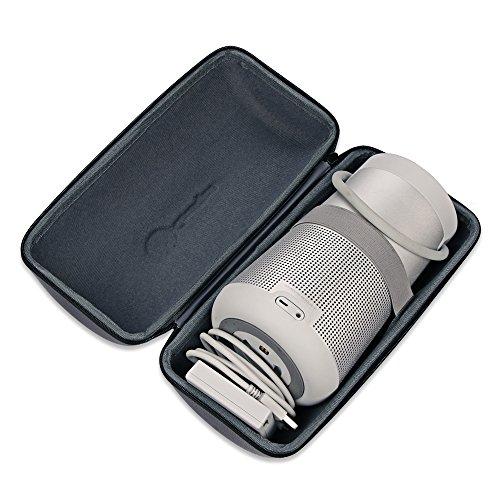 Bose SoundLink Revolve+ Plus Wireless Bluetooth Speaker Portable Hard Carrying Case Travel Bag (Black) by Esimen (Image #1)