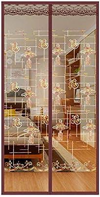 Mosquitera Magnética,Puertas Mosquiteras Magnética Automático Cierra Automáticamente Para Puertas Correderas Balcones Terraza-90x240cm(35x94inch)-D: Amazon.es: Bricolaje y herramientas