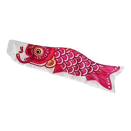15cm Koinobori Kite Children/'s Day Green Carp Streamer Windsocks Koi Nobori