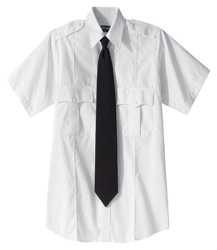 Edwards Security Short Sleeve Shirt Polyester/Cotton Blend 1226