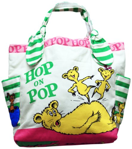 Dr. Seuss Hop On Pop Small Tote Bag by asd Living