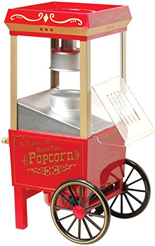 Nostalgia OFP501 Vintage Collection 12-Cup Hot Air Popcorn Maker