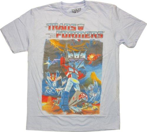Transformers Autobot Poster T-Shirt Sheer Medium Transformers Sheer T-shirt