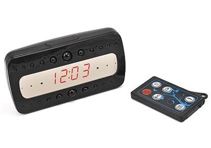 Alarma, reloj indicador Full HD DVR 1080P Infrared con ...