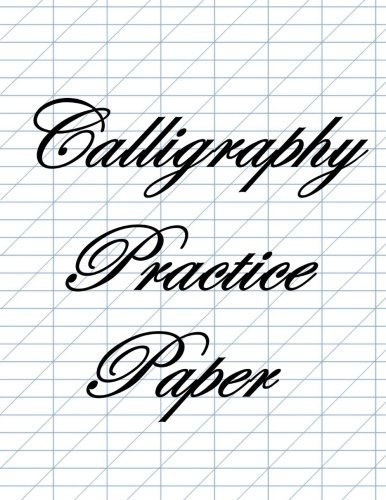 Calligraphy Practice Paper: Blue Guide Lines! ebook