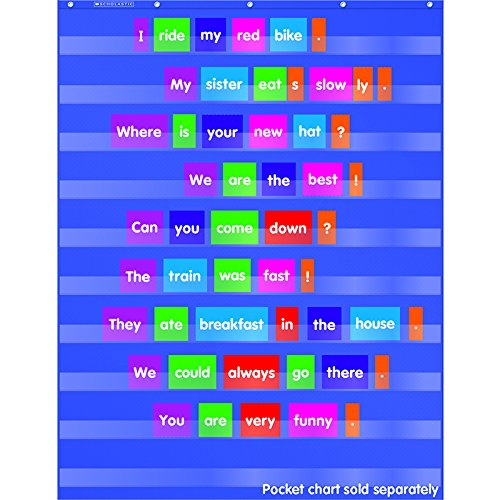 Sentence Building Pocket Chart Add