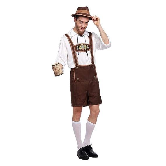 Reputedc.Ropa alemana de los hombres de Oktoberfest, traje ...