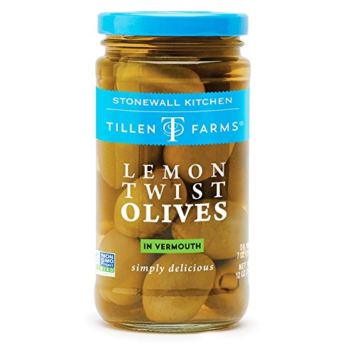 Tillen Farms Lemon Twist Olives - 6 Pack