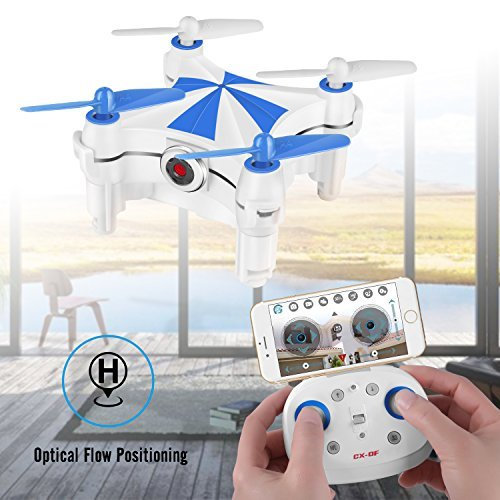 Optical Flow Positioning, Mini RC Drones for Kids & Beginners, Easy to Control, Cheerson CX-OF Drone with Camera, Height Hold, One Key Take Off Landing, Hand Movement Follow, Dance Style of Flying