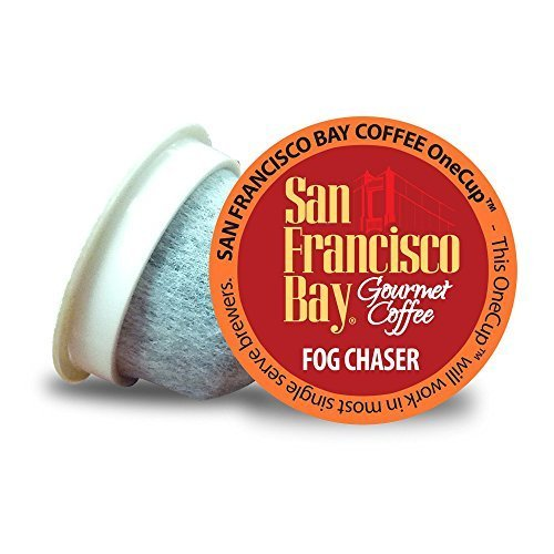 SAN FRANCISCO BAY FOG CHASER 24 ONE CUPS for Keurig K-Cup Brewers