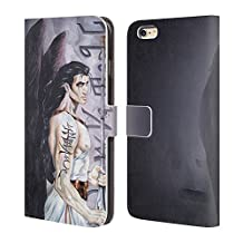 Official Ruth Thompson Vox Fini Angels Leather Book Wallet Case Cover For Apple iPhone 7 Plus