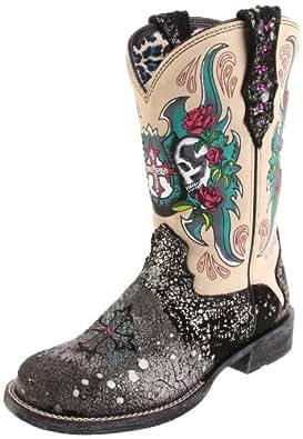 Amazon Com Ariat Women S Rodeobaby Relic Boot Rough