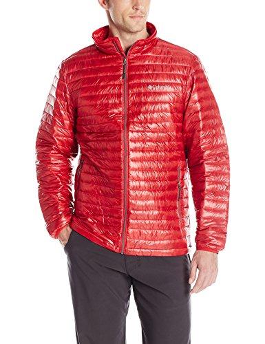 - Columbia Men's Platinum Plus 740 TurboDown Jacket, Mountain Red, Large