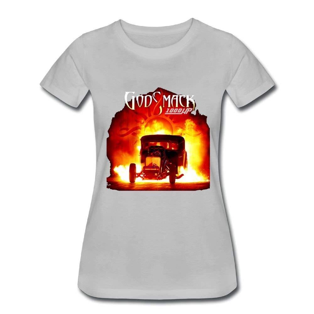 Funny Generic Godsmack 1000hp Humor Jogging Gray Short Sleeve Shirts