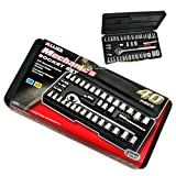 Mechanic Socket Set Allied 40 Piece PC 86084 Car Home Garage Emergency Tool Kit