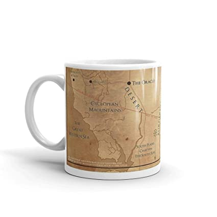 Amazon.com: The Dark Tower - Mid-World Map Mug 11 Oz White Ceramic ...
