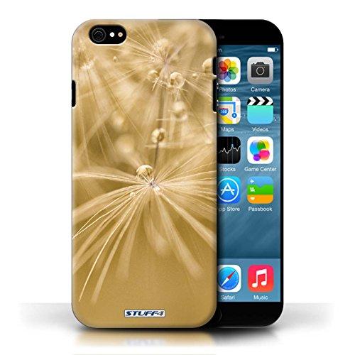 Etui / Coque pour Apple iPhone 6/6S / Fleur Jaune conception / Collection de Gouttes de Fées