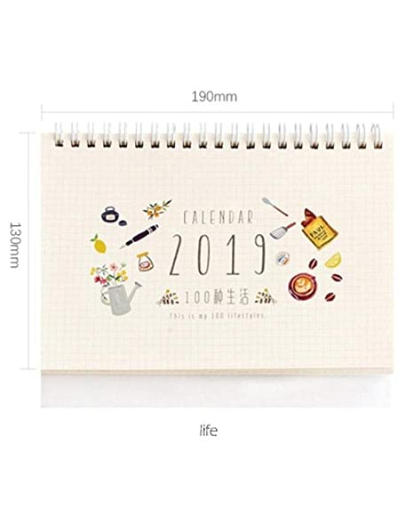 Amazon.com : 2019 New Kawaii Cute Forest Life Calendar Small ...