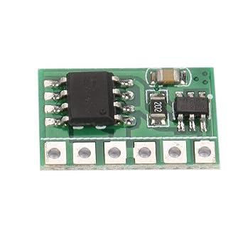 6A Flip-Flop Latch Switch Module Bistable Self-locking Trigger Board LED Motor