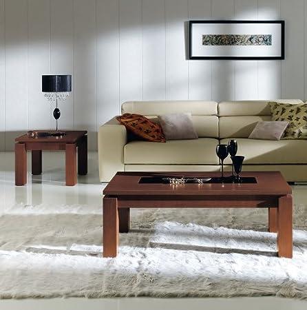 Mesa baja elevable dimensiones 120 x 60 cm en haya y Pin Premier ...