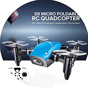 S9HW RC Drone with Camera HD S9 No Camera Foldable Mini Quadcopter Altitude Hold Helicopter WiFi FPV Micro Pocket Dron Aircraft