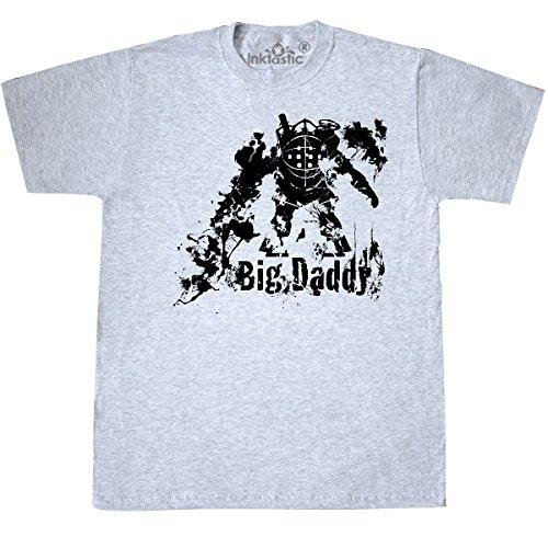 Inktastic - Big Daddy T-Shirt Medium Ash Grey