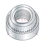 1/4-20-3 Self Clinching Nuts | Case Hardened Steel | Zinc Plated (QUANTITY: 4000)