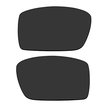 ACOMPATIBLE Replacement Black Polarized 1.5 mm Thickness Lenses for Oakley Gascan Sunglasses (Not Fit Gascan