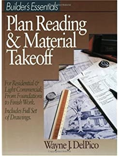 Blueprint reading basics warren hammer 9780831131258 amazon builders essentials plan reading material takeoff malvernweather Gallery