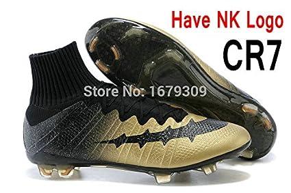 1abeb608e Amazon.com  2015 Superfly FG CR7 Football Boots High Ankle Soccer ...