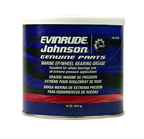 OEM BRP Johnson Evinrude Extreme Pressure Wheel Bearing Grease 1lb Container