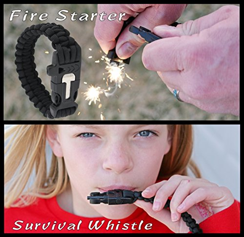 New-Combo-Pack-39-Series-Black-Micarta-Handle-Self-Defense-Weapon-Ultimate-Survival-Tool-for-Zombie-Apocalypse-Survival-Kit-w-Free-550-Paracord-Bracelet-Credit-Card-Knife-Survival-Life