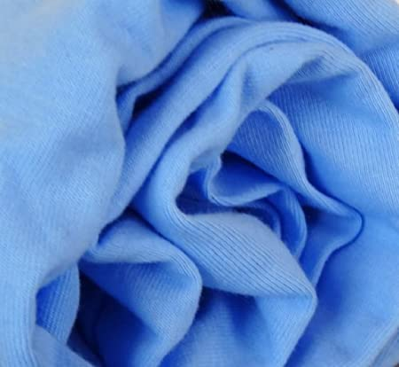 Babymajawelt Spannbetttuch Jersey 70x140-60x120 Spannbettlaken f/ür Kinderbett blau