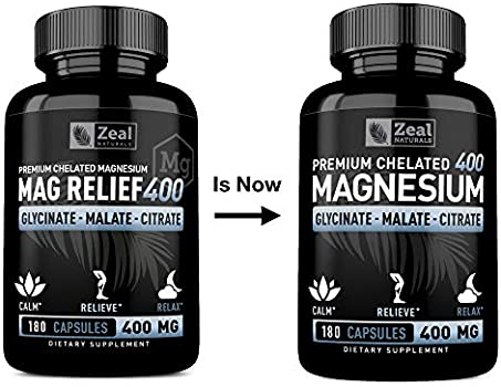 400mg elementares Magnesium Plus Vi Premium Magnesiumcitrat 2580mg Hochdosiert