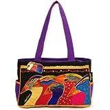 Sun 'N' Sand Sky Spirits Medium Tote Shoulder Bag by Laurel Burch (Multi), Bags Central