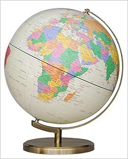 Us Map Globe.Insight Globe Brass Antique Illuminated Us Insight Globes