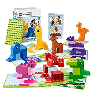Animal Bingo Game for Shape and Color Recognition by LEGO Education DUPLO - 51ZghP 2BYE 2BL - Animal Bingo Game for Shape and Color Recognition by LEGO Education DUPLO