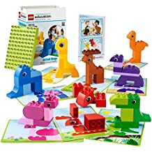 Animal Bingo Game for Shape and Color Recognition by LEGO Education DUPLO