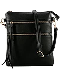 Functional Multi Pocket Crossbody Bag, Lightweight