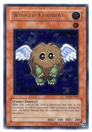 (Yu-Gi-Oh! - Winged Kuriboh (TLM-EN005) - The Lost Millennium - 1st Edition - Ultimate Rare)
