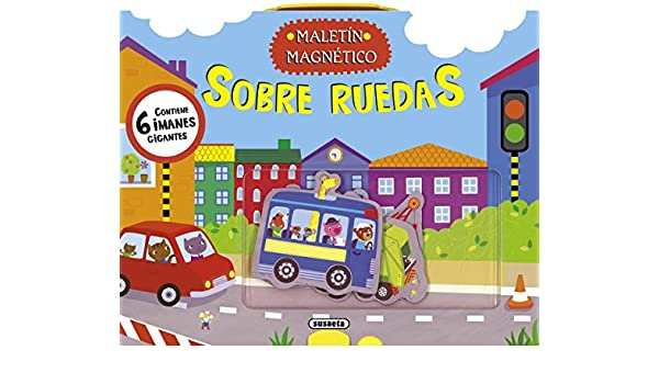 Sobre ruedas / On wheels (Spanish Edition): Equipo Susaeta: 9788467720358: Amazon.com: Books