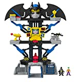 Imaginext CHH91 Transforming Batcave, Batman Playset with Lights and Dart Launcher with Batman and Joker Figures, Suitable From 3 Year Old