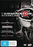 Terminator Quadrilogy Terminator / Terminator 2 / Terminator 3 Rise of The Machines / Terminator Salvation DVD