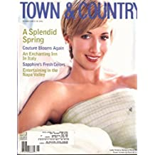 Town & Country 1999 May - Lady Victoria Hervey in Pierre Balmian Houte Couture By Oscar De La Renta