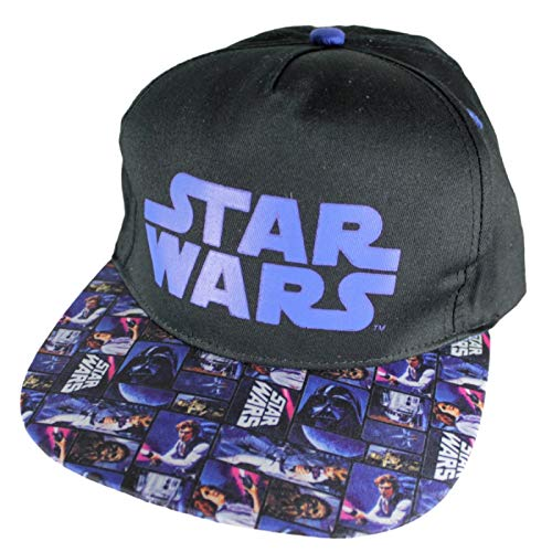 STAR WARS Gorra Visera Plana Talla 54 adpatable: Amazon.es: Ropa y ...