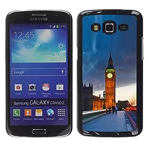 Be Good Phone Accessory // Dura Cáscara cubierta Protectora Caso Carcasa Funda de Protección para Samsung Galaxy Grand 2 SM-G7102 SM-G7105 // The Big Ben London