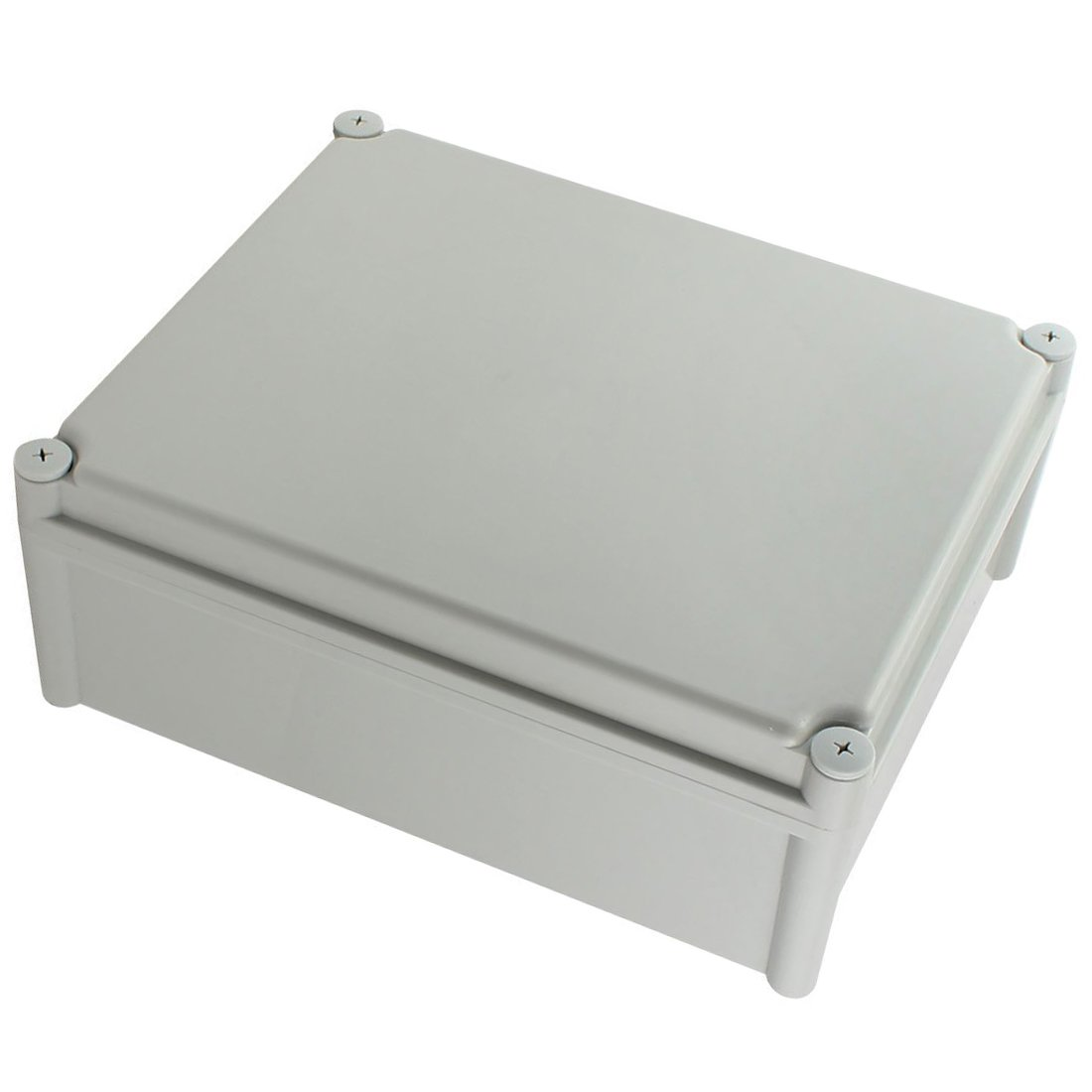 YXQ Junction Box Electrical Project Case IP65 Waterproof ABS DIY Power Outdoor Enclosure Gray (13.4 x 11 x 5.1 inches)